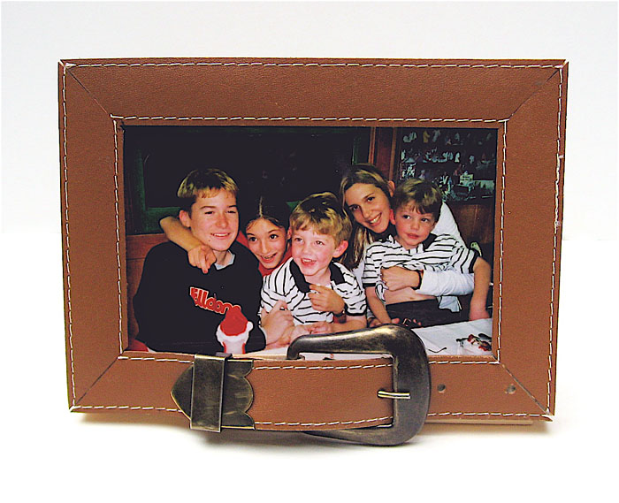 picture frame. Buckle Up Frame for Dad