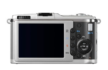 Back View of the Olympus E-P1