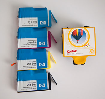 Both Types of Printer Cartridges