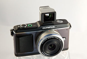 E-P2 with 17mm and Optical VF