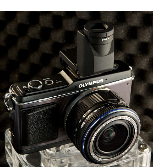 E-P2 with VF-2 Viewfinder