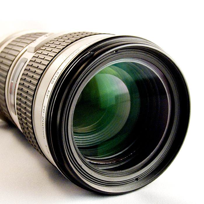 Canon Zoom Lens after the crash