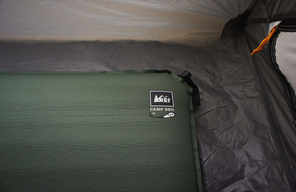REI Camp Bed for fort on Location The Digital Story