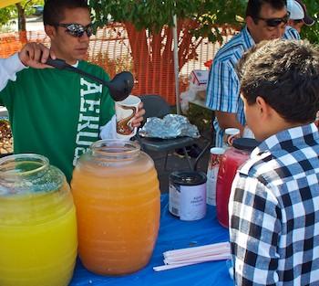 Street Fair in Santa Rosa