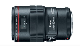 Canon 100mm f-2.8 IS Macro