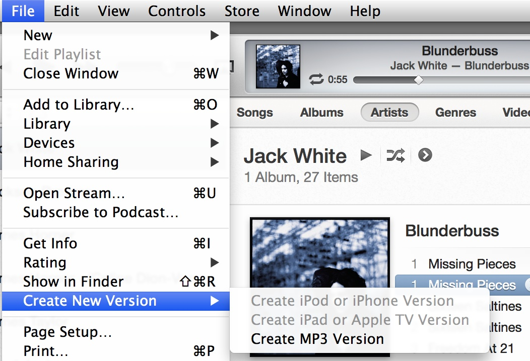 Convert to MP3 Using iTunes 11 - The Digital Story