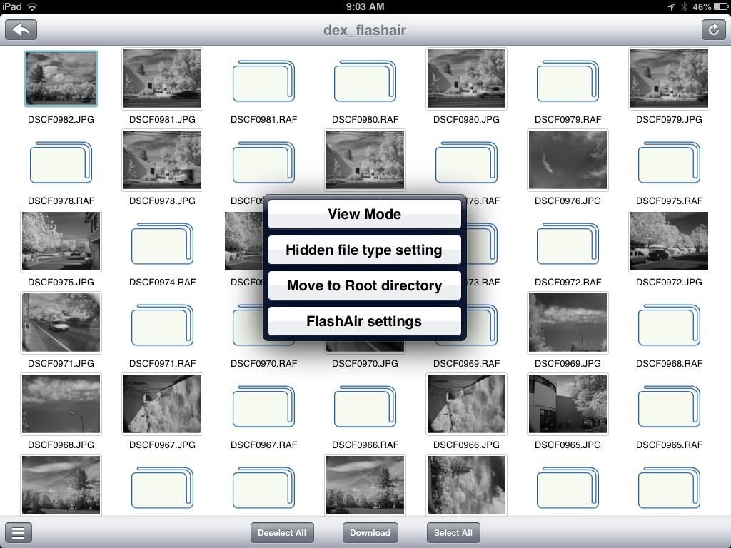 FlashAir App for iOS - The Digital Story