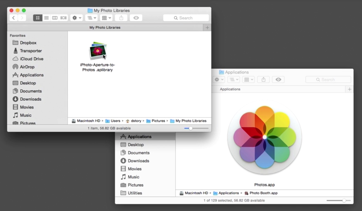 Converting an Aperture or iPhoto Library to Photos for OS X