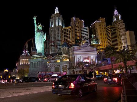 New York New York on Las Vegas Blvd