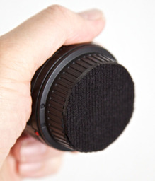Rear Lens Cap Pad for Stacking