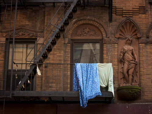 Draped Laundry, New York City