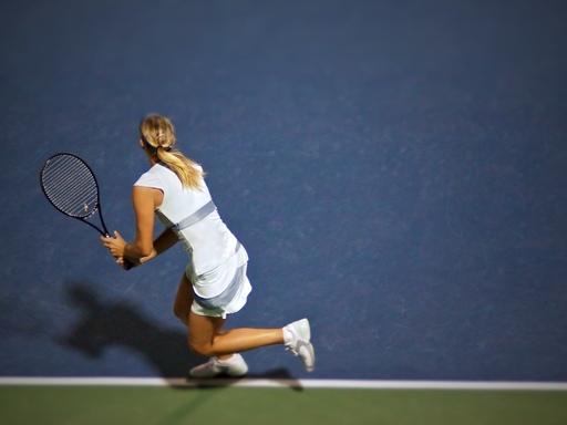 Maria Sharapova by Derrick Story
