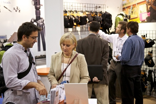 Lowepro Booth at PhotoPlus Expo 2010