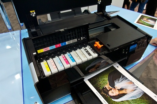 Inside the Epson R3000 Printer