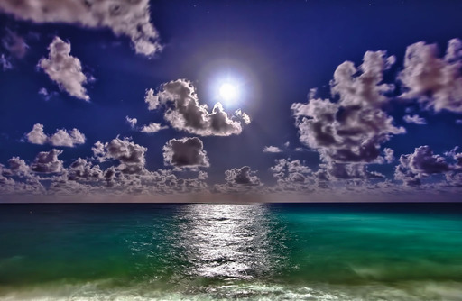 Moonrise, Palm Beach, Florida
