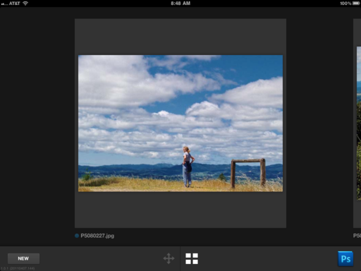 Adobe Nav for Photoshop on the iPad