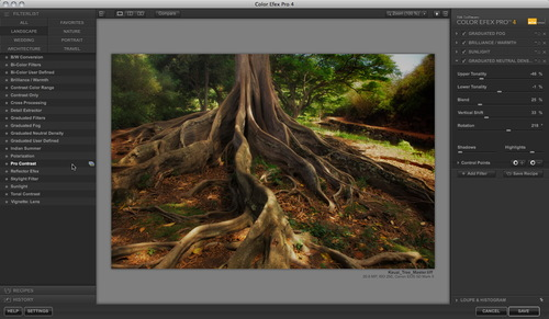 Color Efex Pro 4 Project in Process
