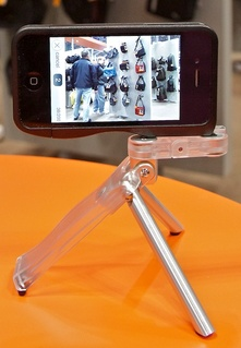 iPhone 4S on a Gymbl Tripod