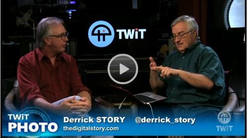 Derrick Story and Leo Laporte