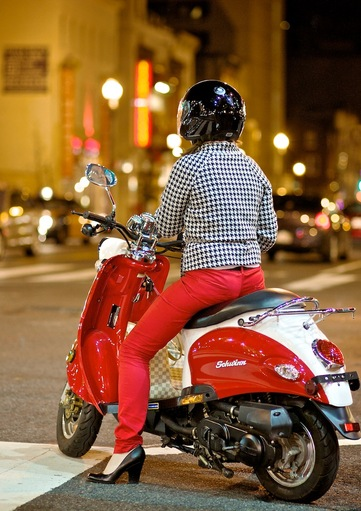 Girl on Scooter - Washington DC