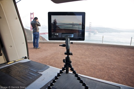 iStopMotion Recording at the Golden Gate Bridge