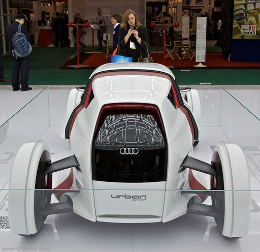 Audi Urban Concept Car at CES 2012