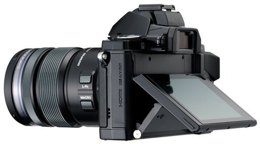 OM-D Back with Tilting LCD
