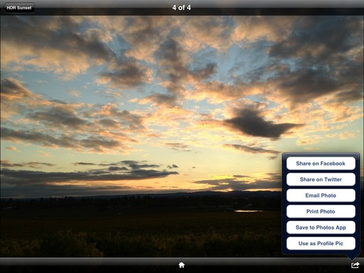 Blinq on iPad