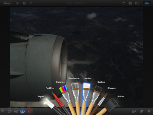 iPhoto Brushes