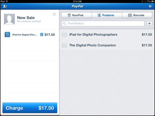 Paypal Here for iPad