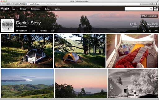 The New Flickr Interface
