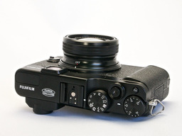 FujiFilm X20 Camera Top View