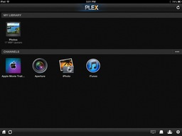 Aperture Access on an iPad Using Plex