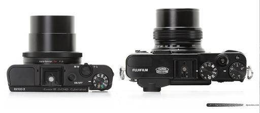 Sony RX100 II and Fujifilm X20