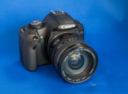 Canon EOS Rebel T1i with 24-85mm Lens
