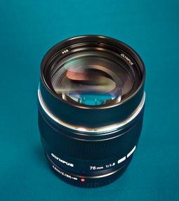 Olympus 75mm Prime Lens