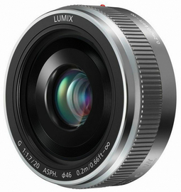 Revised Panasonic Revises LUMIX G 20mm F1-7 Lens