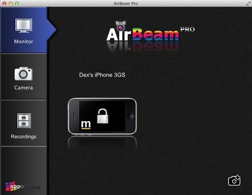 AirBeam iOS App