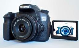 Canon 70D Live View