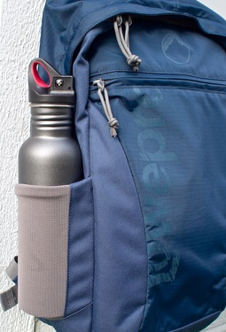Nimble Water Bottle in Backpack