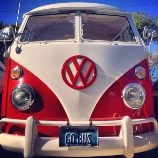 My Sister's 1965 VW Bus