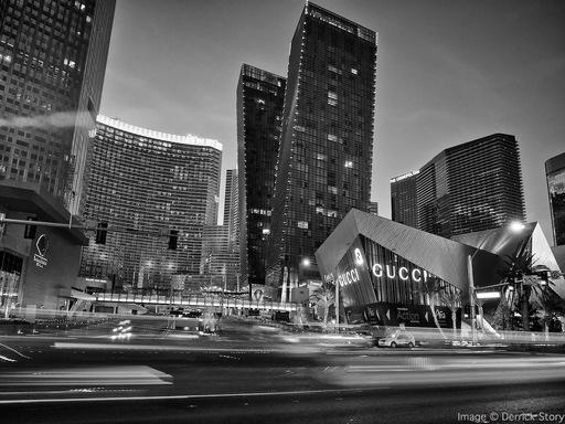 Las Vegas Blvd BW