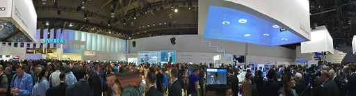 Booth Pano, Samsung CES 2014