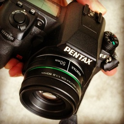 Pentax K-5 with 50mm