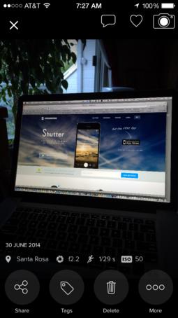 Shutter for iOS