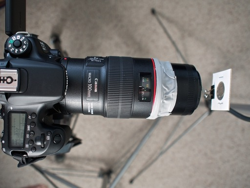 50mm Attached to 100mm