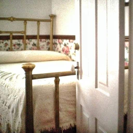 Bed in Boarding House