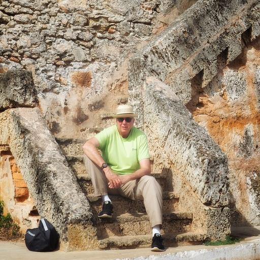 Derrick in Cojimar Cuba