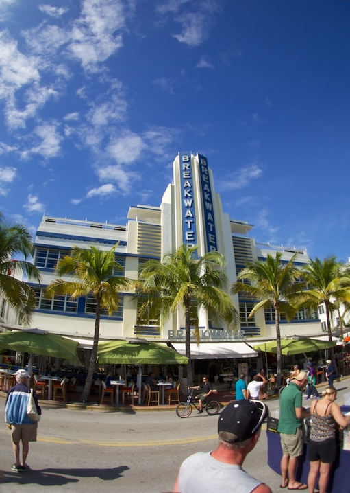 Ocean Drive during Art Deco Weekend
