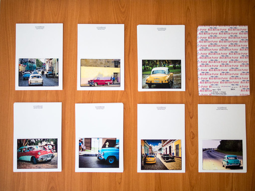 Fine Art Notecards of Classic American Cars in Cuba